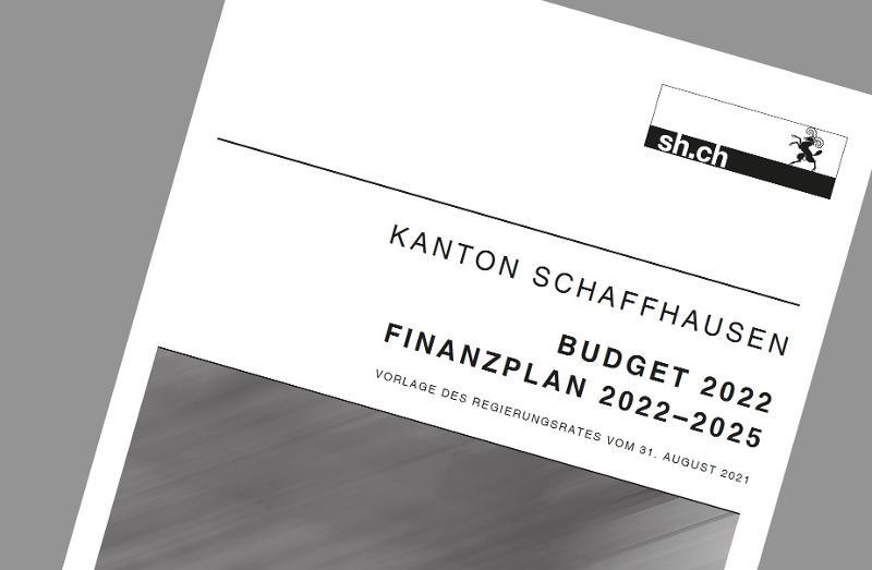 Budget 2022 und Finanzplan: praktisch ausgeglichene Abschlüsse
