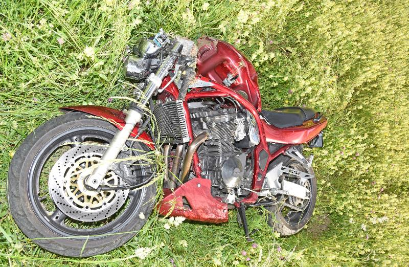 Thayngen: Motorradfahrer stirbt bei seitlicher Frontalkollision