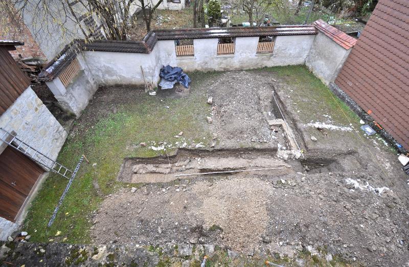 Ausgrabung Schloss Beringen