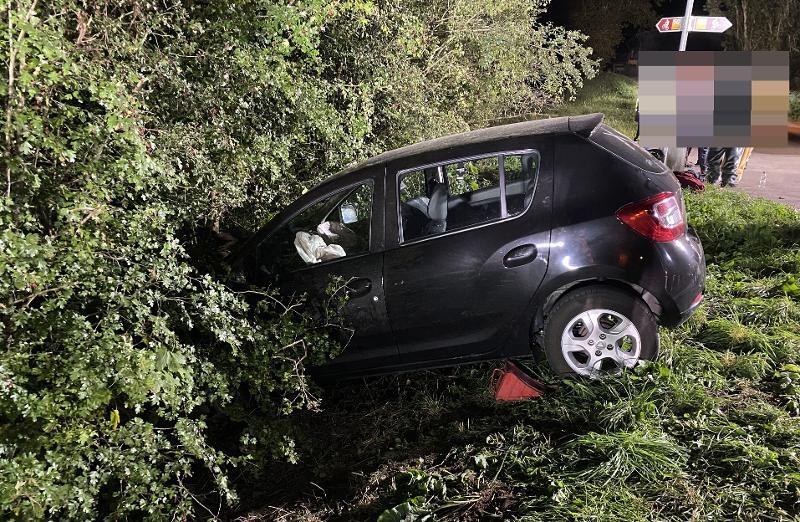 Oberhallau: Alleinunfall fordert mehrere Verletzte