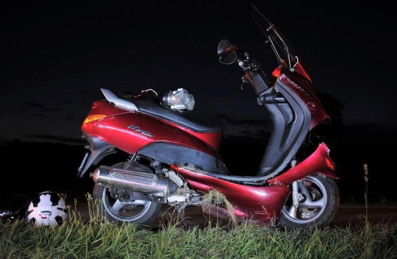 Siblingen: Sturz eines Motorradfahrers