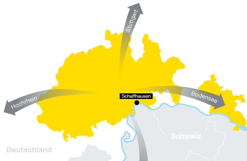 Neue Broschüre über die Aussenbeziehungen des Kantons Schaffhausen veröffentlicht