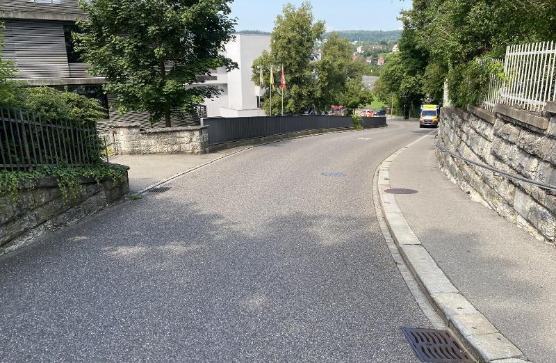 Stadt Schaffhausen: Verkehrsunfall fordert eine verletze Person
