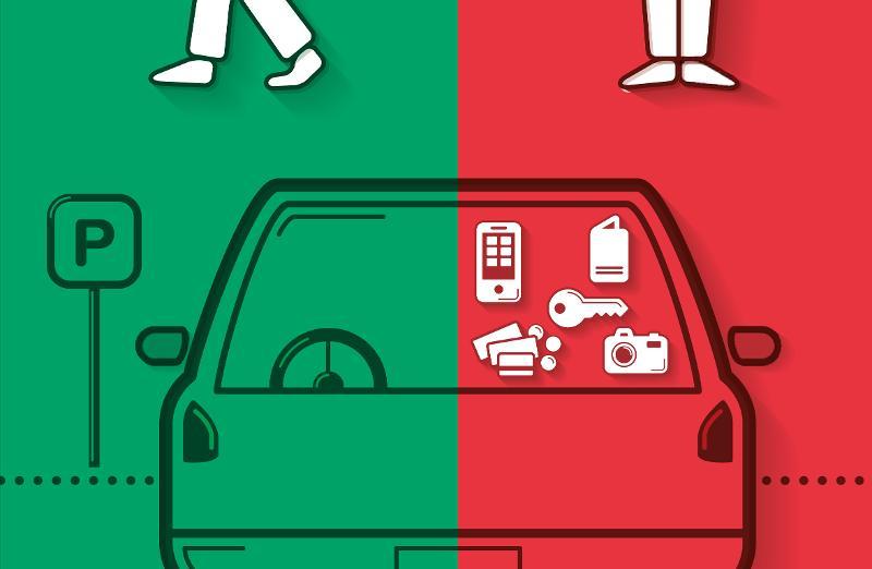 Stadt SH: Zeugenaufruf zu einem Diebstahl aus Personenwagen