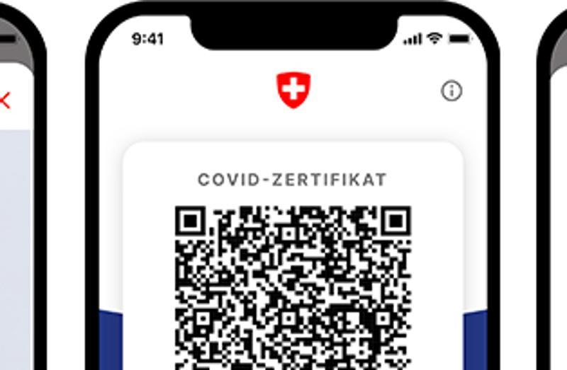 Start mit dem Versand von Zugängen für Covid-Zertifikate