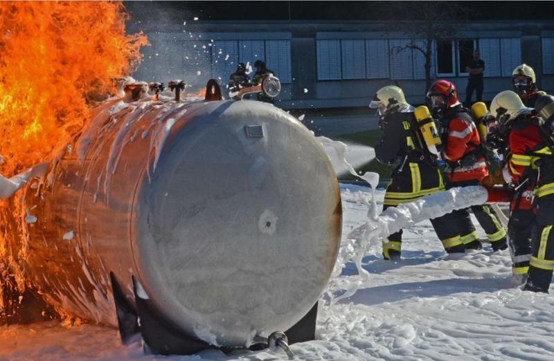 Revidierte Vorlage zum gemeinsamen Ausbildungszentrum für Zivilschutz und Feuerwehrwesen in Beringen