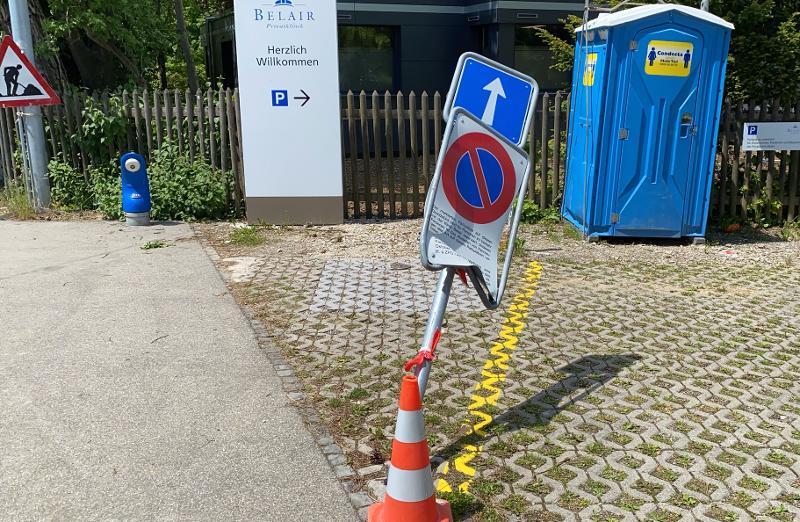 Stadt Schaffhausen: Zeugenaufruf zu pflichtwidrigem Verhalten nach einem Verkehrsunfall.
